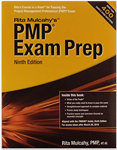 Rita本 PMP Exam Prep 9th edition